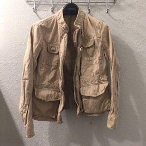Loft petite khaki jacket